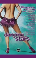 "Dancing with the Stars Purple Dress - 11"" x 17"""