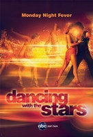 "Dancing with the Stars Monday Night Fever - 11"" x 17"""