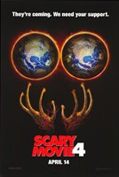 """Scary Movie 4 - They're coming. - 11"""" x 17"""""""