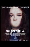 """Silent Hill - girl with no mouth - 11"""" x 17"""""""