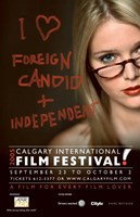 "Calgary International Film Festival Poster - 11"" x 17"" - $15.49"