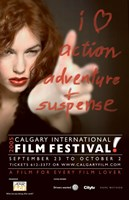 "Calgary International Film Festival Ad - 11"" x 17"" - $15.49"