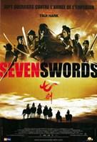 """Seven Swords - 11"""" x 17"""""""
