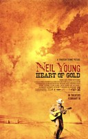 """Neil Young: Heart of Gold - 11"""" x 17"""""""