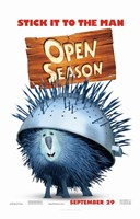 "Open Season - stick it to the man - 11"" x 17"""