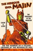 """Vengeance of the Monster - 11"""" x 17"""" - $15.49"""