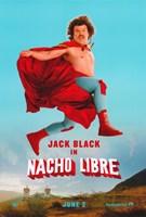 "Nacho Libre Jack Black Leaping - 11"" x 17"""