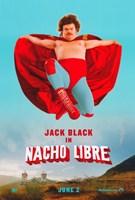 "Nacho Libre Jack Black - 11"" x 17"""