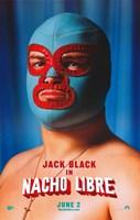 """Nacho Libre Jack Black in Mask - 11"""" x 17"""""""