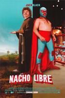 """Nacho Libre Monk & Libre - 11"""" x 17"""""""