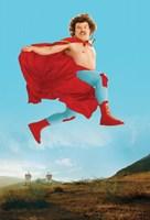 "Nacho Libre Nacho Leaping - 11"" x 17"""