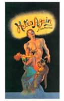 """Hello Again (stage play) - 11"""" x 17"""""""