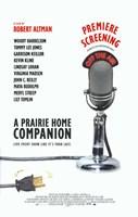 """A Prairie Home Companion - mic - 11"""" x 17"""" - $15.49"""