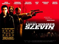 """Lucky Number Slevin - Horizontal - 17"""" x 11"""""""