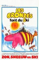 "Les Bronzs font du ski - 11"" x 17"""