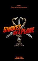 """Snakes on a Plane First Class Flyers - 11"""" x 17"""", FulcrumGallery.com brand"""
