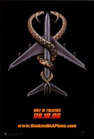 """Snakes on a Plane in Theaters - 11"""" x 17"""""""