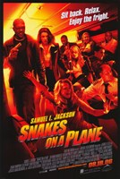 """Snakes on a Plane Sit back. Relax. - 11"""" x 17"""""""