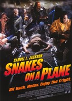 "Snakes on a Plane Samuel L. Jackson - 11"" x 17"", FulcrumGallery.com brand"