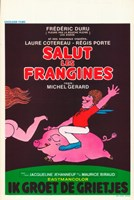 "Salut les frangines - 11"" x 17"""