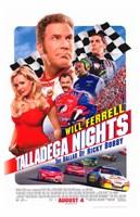 Talladega Nights: The Ballad of Ricky Bobby Fine Art Print