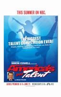 """America's Got Talent - 11"""" x 17"""" - $15.49"""
