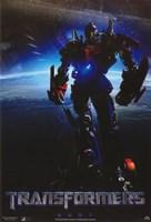 Transformers - style J Fine Art Print