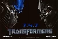 Transformers - style M Fine Art Print