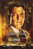 Hollywoodland Ben Affleck Framed Print