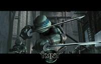 Teenage Mutant Ninja Turtles Leonardo Fine Art Print