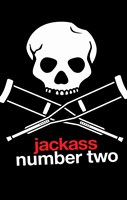 """Jackass: Number Two - crutches - 11"""" x 17"""""""
