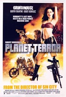 """Grindhouse Planet Terror Motorcycle - 11"""" x 17"""""""