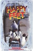 "Happy Feet Bus Stop - 11"" x 17"", FulcrumGallery.com brand"