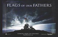 """Flags of Our Fathers Iwo Jima - 17"""" x 11"""", FulcrumGallery.com brand"""