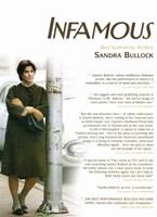 Infamous Sandra Bullock Fine Art Print