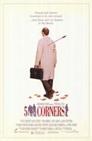 """Five Corners - 11"""" x 17"""", FulcrumGallery.com brand"""
