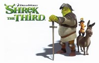 "Shrek the Third Knight - 17"" x 11"""