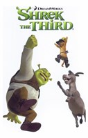 Shrek the Third Jumping Fine Art Print