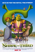 "Shrek the Third Royal Treatment - 11"" x 17"""