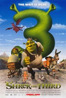 "Shrek the Third The Wait is Ogre - 11"" x 17"""
