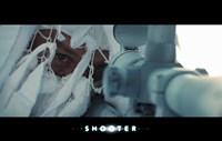 "Shooter - aiming - 17"" x 11"""
