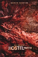 """Hostel Part II - red - 11"""" x 17"""""""