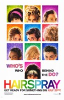 Hairspray - who's who behind the do? Fine Art Print