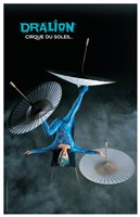 Cirque du Soleil - Dralion, c.1999 (Foot-Juggler) Wall Poster