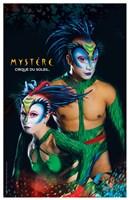 Cirque du Soleil - Mystere, c.1993 (green lizards) Wall Poster