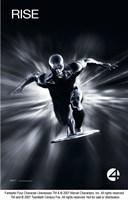 Fantastic Four: Rise of the Silver Surfer - Rise Black and White Fine Art Print