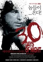 """30 Days of Night Black and White - 11"""" x 17"""""""