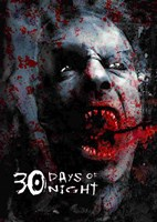 """30 Days of Night Bloody Face - 11"""" x 17"""""""