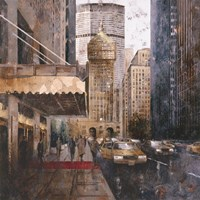 On Park Avenue Fine Art Print