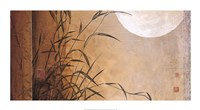 Lakeside Moonrise Fine Art Print